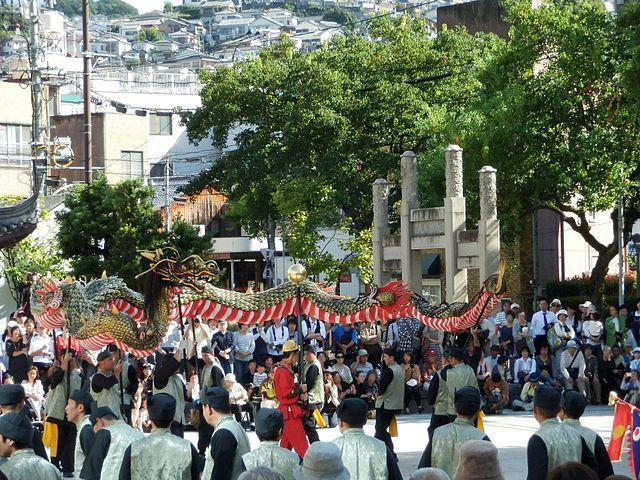 Nagasaki Kunchi Festival The Intercultural Autumn Celebration In Nagasaki