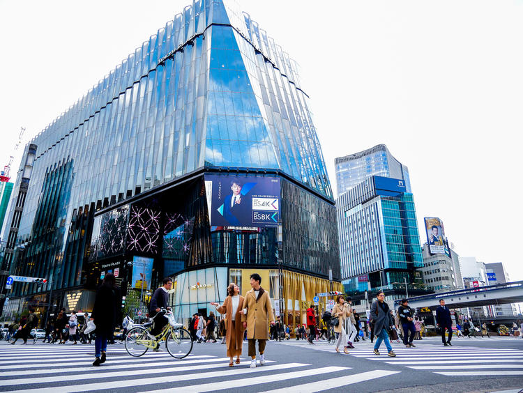 Shop Tax Free and Get Free Airport Delivery at Ginza Lotte