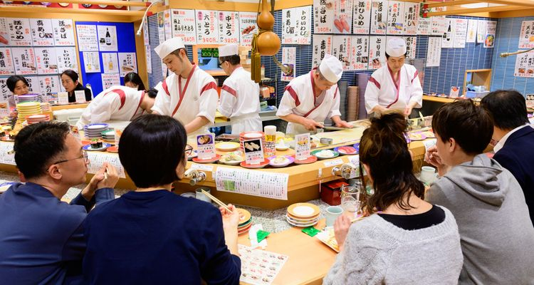 Top 20 Conveyor Belt Sushi Restaurants In Tokyo Tsunagu Japan De lekkerste sushi krijgt u bij sushi station! top 20 conveyor belt sushi restaurants