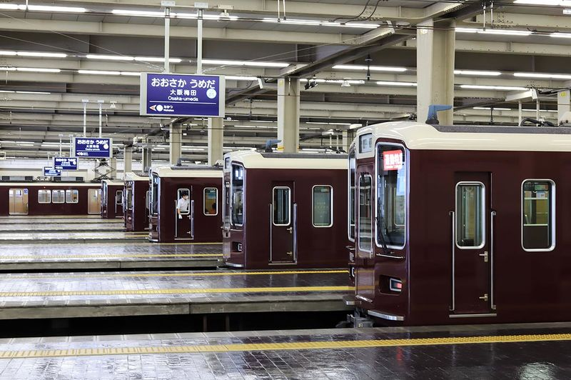 Hankyu train 1