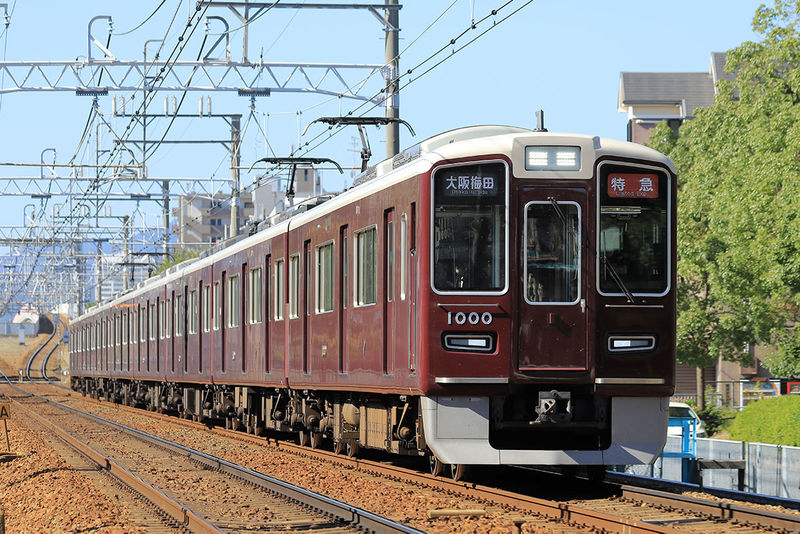 Hankyu train 2
