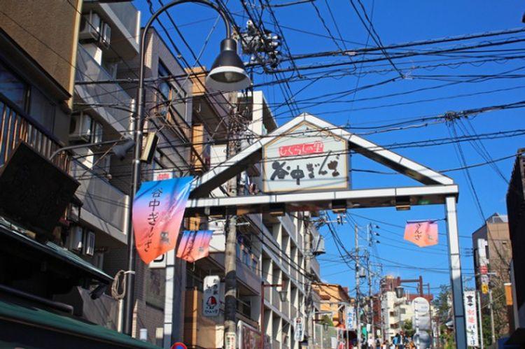 shotengai shopping street japan tokyo yanaka ginza