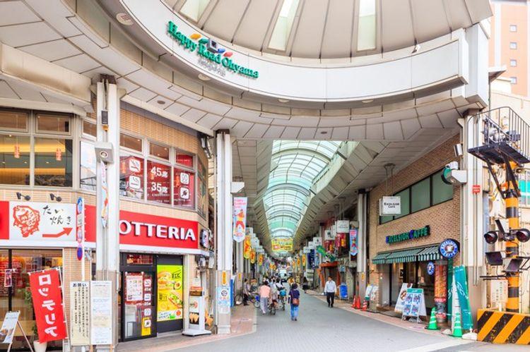 shotengai shopping street japan tokyo oyama