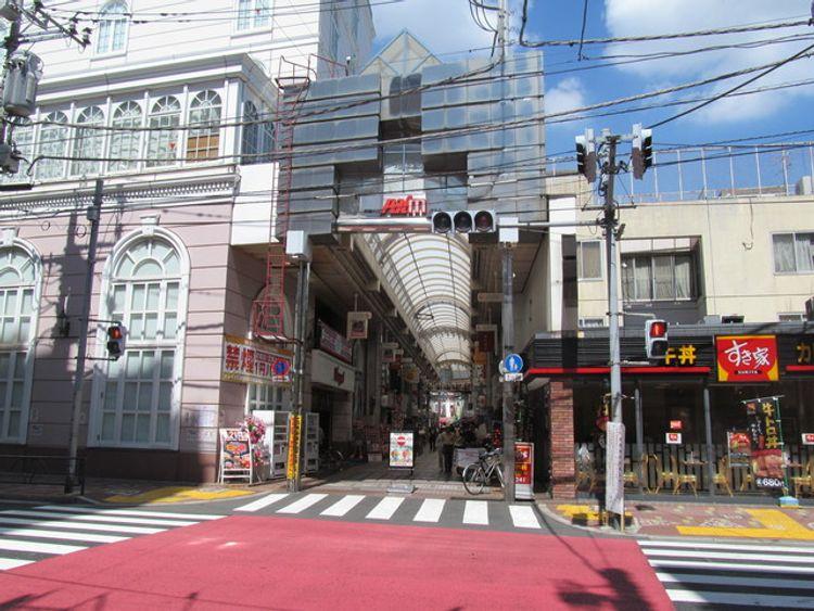 shotengai shopping street japan tokyo musashi koyama