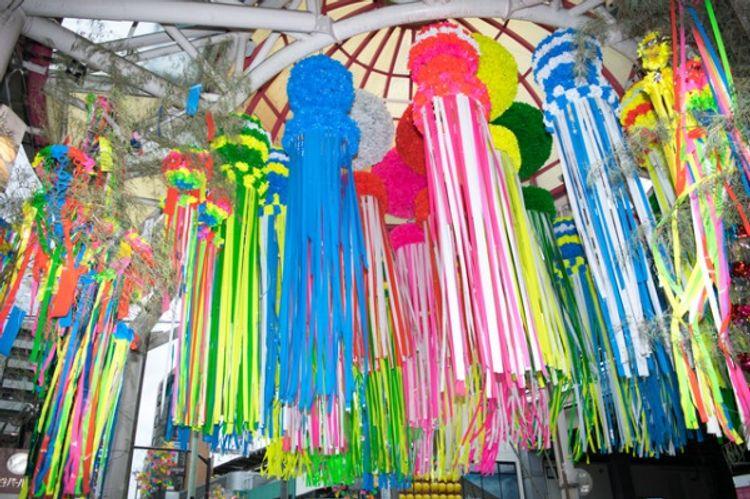 shotengai shopping street japan tokyo asagaya tanabata