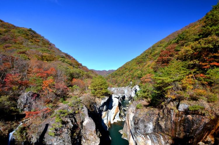 【日本文化旅遊】日本景點,關東(龍王峽),台中YMCA-日本文化旅遊