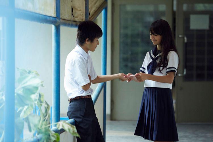 Japanese school kids confessing