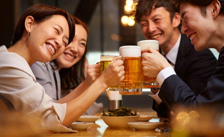 Gokon party Japan cheers
