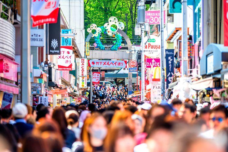 takeshita street harajuku