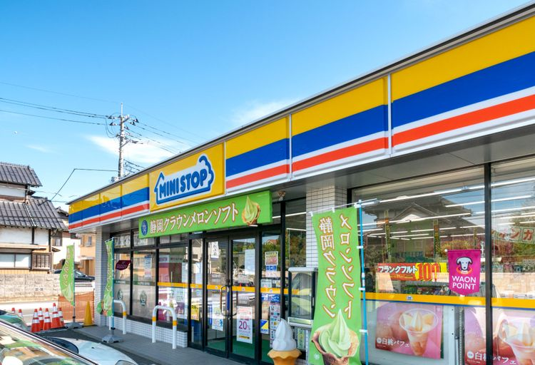 mini stop convenience store Japan