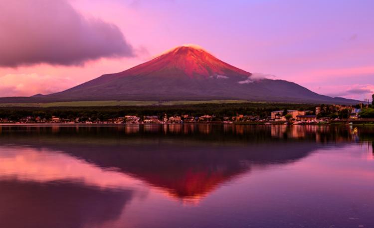 núi Phú Sĩ đỏ