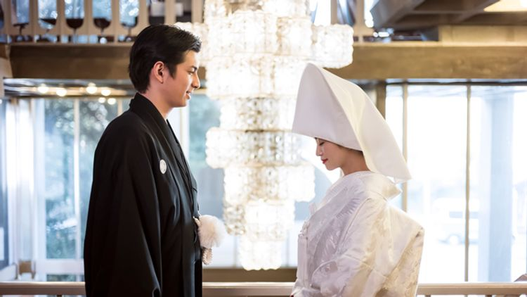 Traditional Japanese marriage
