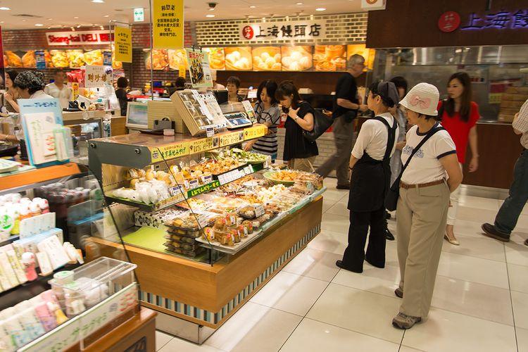 food floor of daimaru tokyo