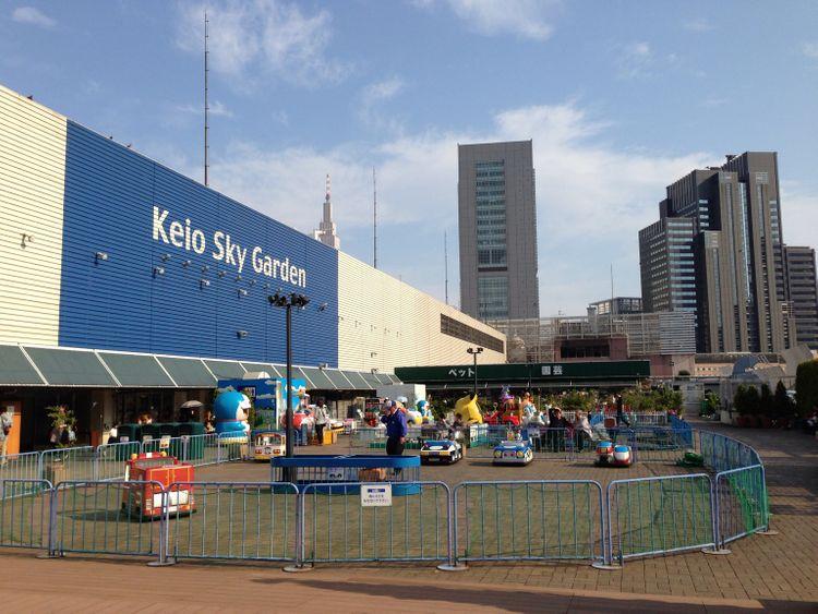 keio asahi sky beer garden