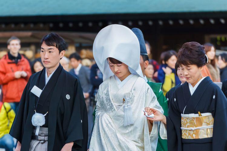 vợ chồng ở Nhật Bản