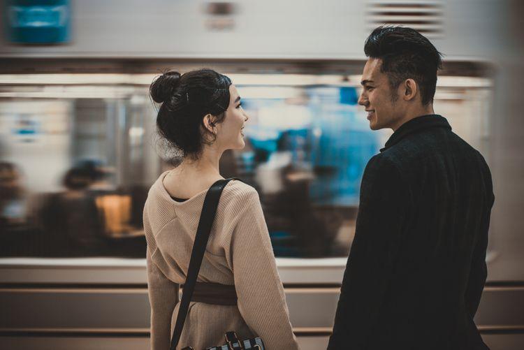 cặp đôi người Nhật hẹn hò