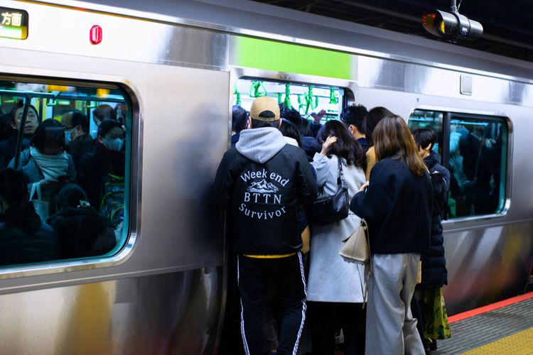 東京山手線電車
