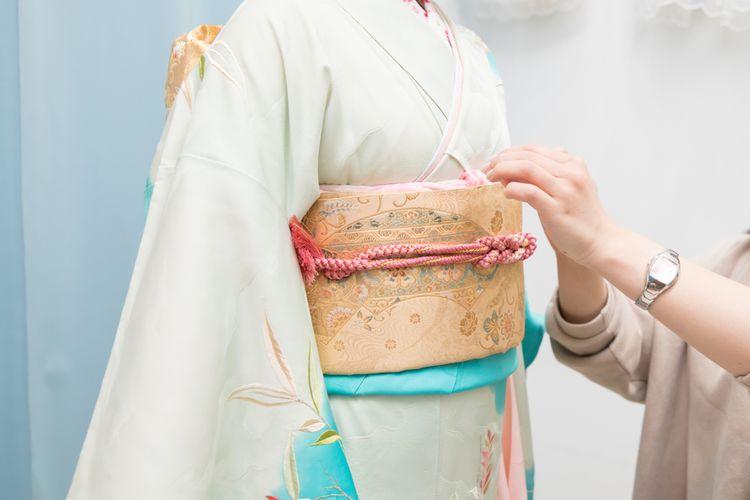 obi kimono sash belt