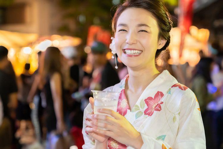 yuakata matsuri japanese girl