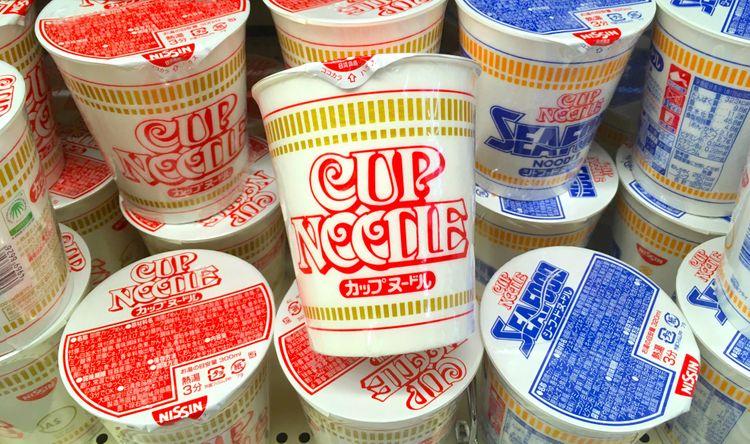 The original nissin cup noodle