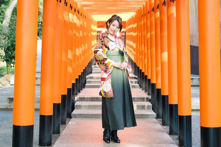 japanese girl hakama sotsugyoshiki