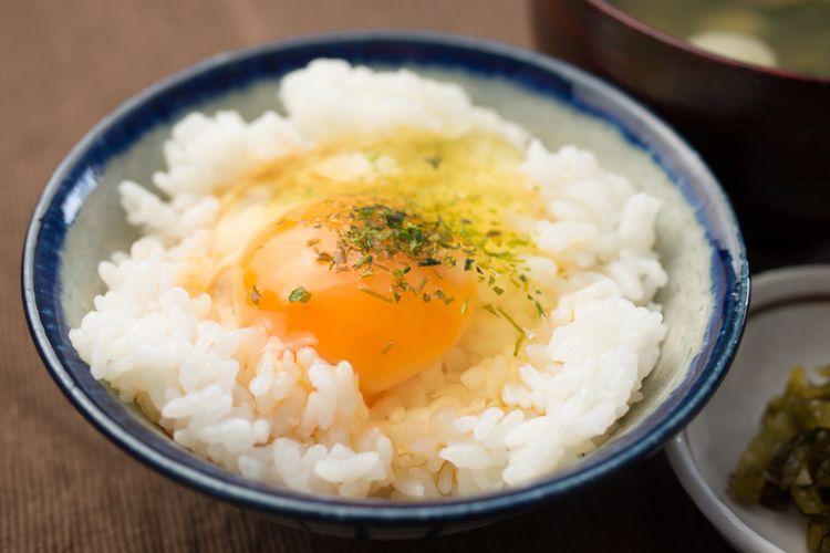 Furikake on rice