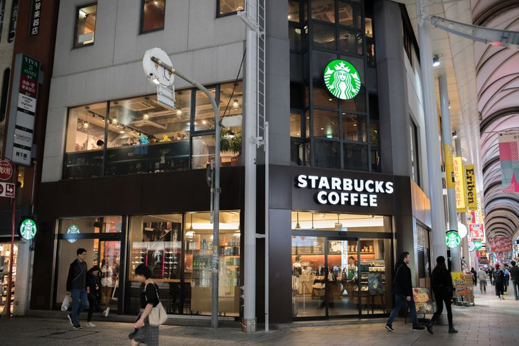 Starbucks in Hiroshima