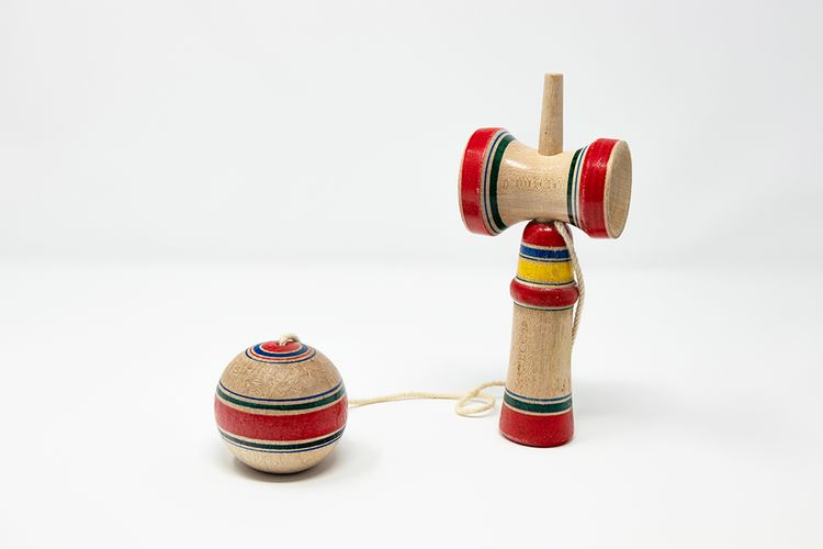 wooden kendama