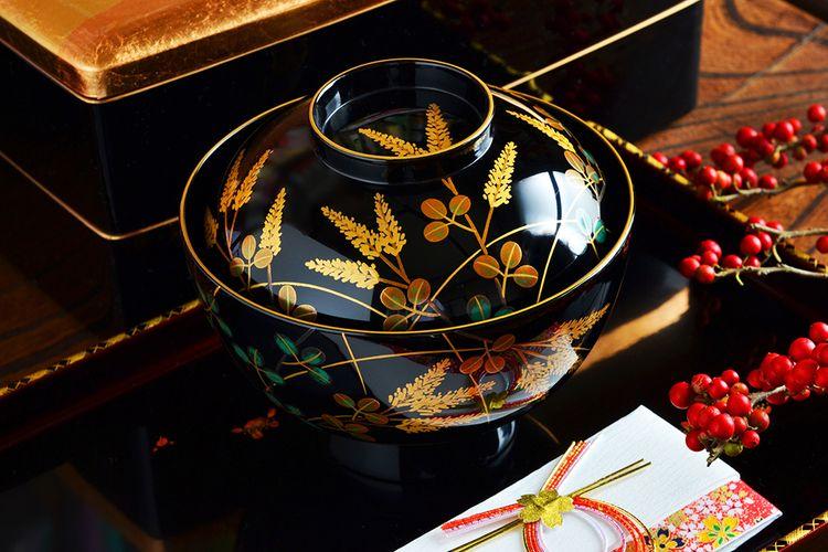 Wajima-Nuri bowl