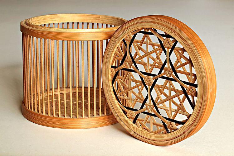 Suruga-Takesensuji-Zaiku lattice basket