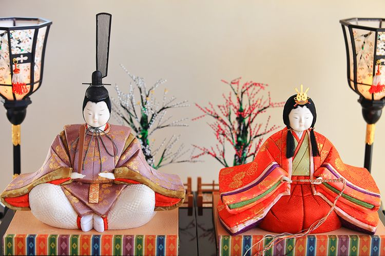Mokumekomi dolls