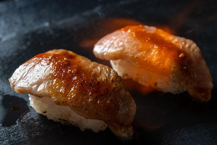 sushi thịt bò