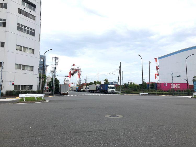 khu vực xung quanh Cục xuất nhập cảnh Tokyo