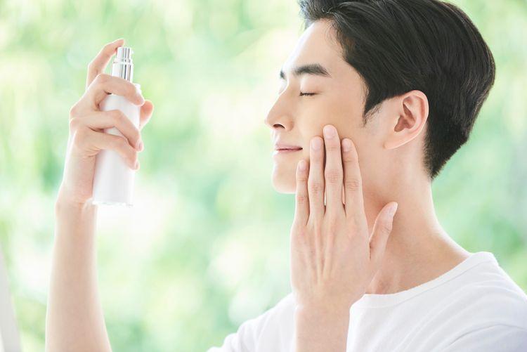 japanese man skincare