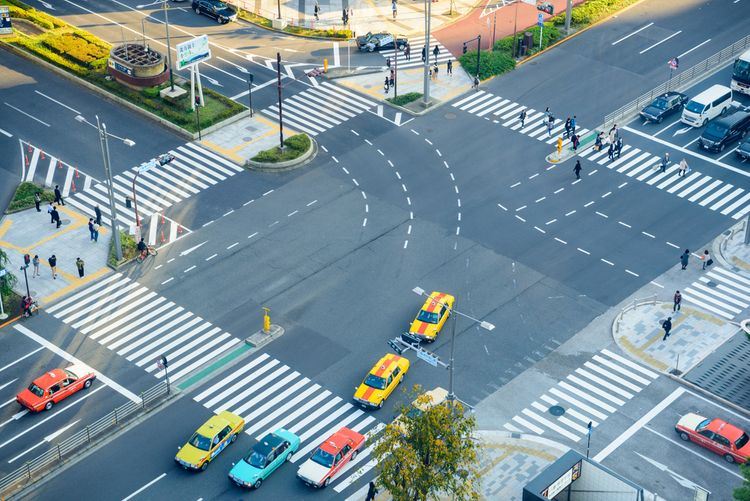 Japanese intersection