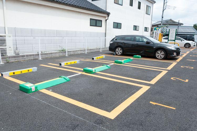 Japanese parking lot