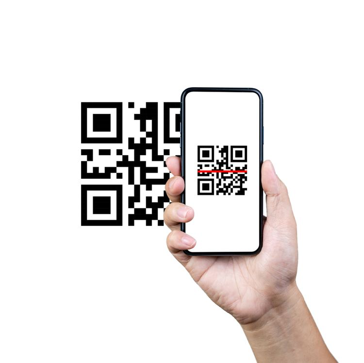 Scan a QR code for easy access