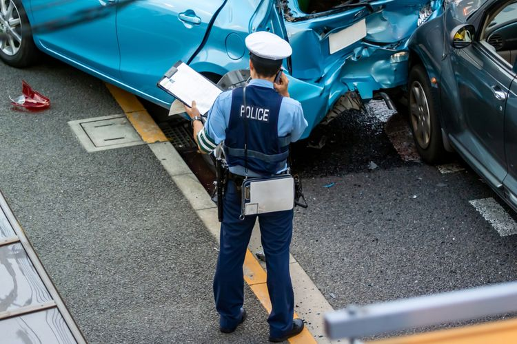 traffic accident in Japan