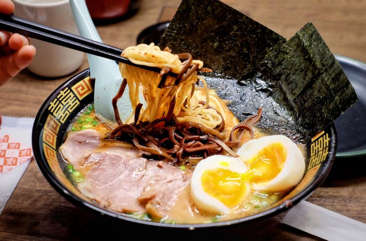 A customized bowl of ramen