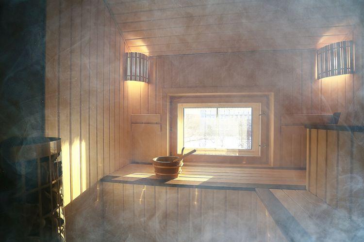 sauna at sento