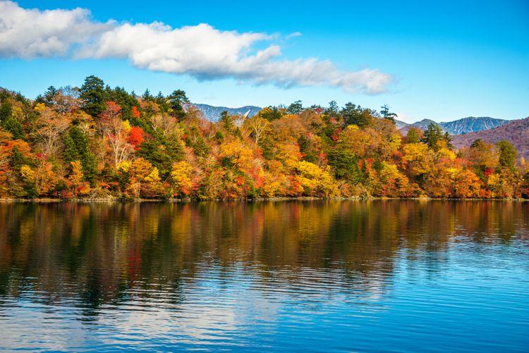 hồ Chuzenji vào mùa thu