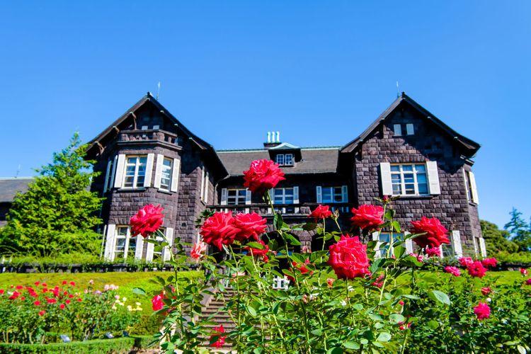 vườn hồng Kyu-Furukawa