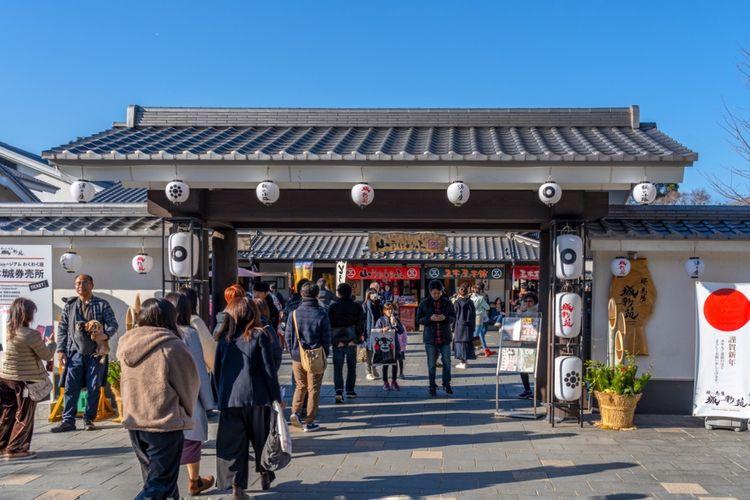 sakuranobaba josaien castle town kumamoto