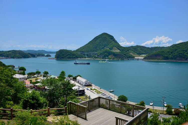 misumi west port meiji period kumamoto