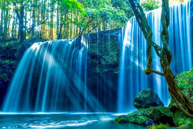 nabegataki falls waterfalls kumamoto