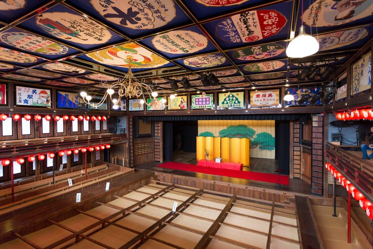 yamaga yachiyoza theater sakurayu onsen kumamoto