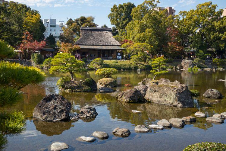 suizenji jojuen koen garden kumamoto