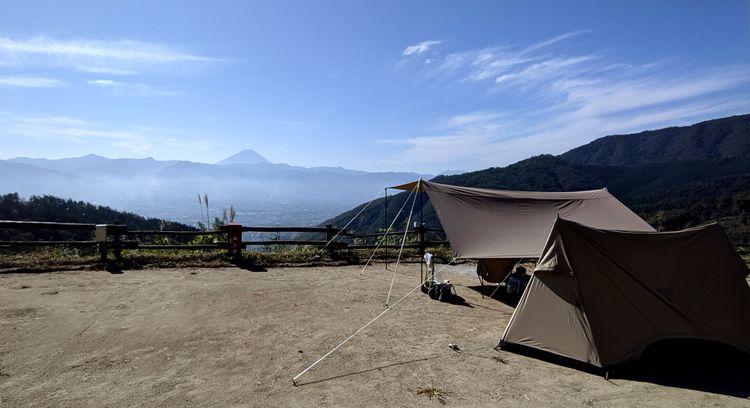 ほったらかし露營場搭營區