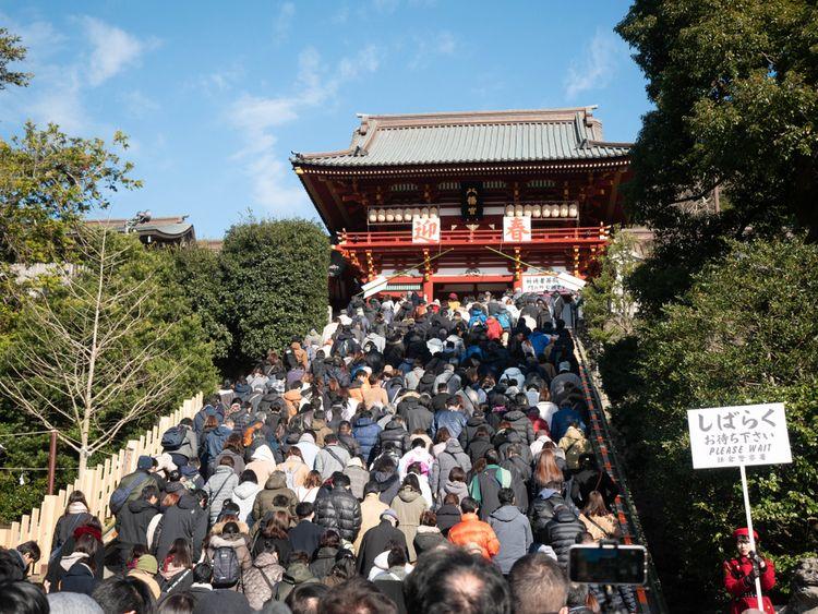 hatsumode in Kamakura