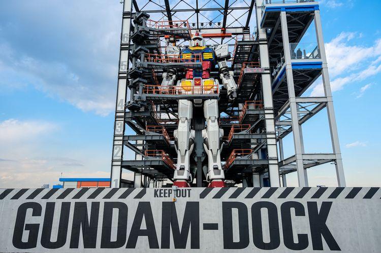 gundam dock